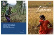 Women and Agriculture Report - Feed the Future
