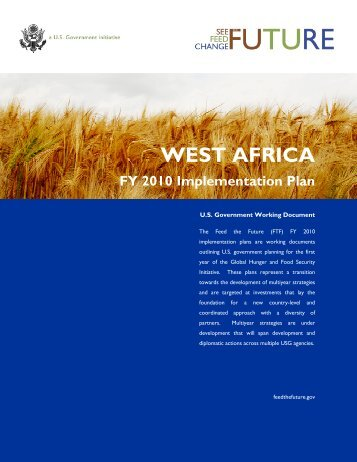 West Africa FY2010 Implementation Plan - Feed the Future
