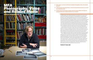 SVA Graduate Catalog Excerpt (pdf/1600KB) - MFA Photo, Video ...