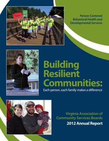 VACSB 2012 Annual Report - Virginia Association of Community ...