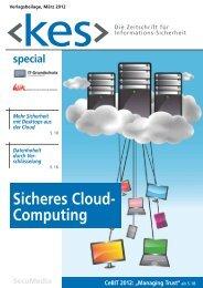 Sicheres Cloud- Computing - IT-Grundschutz