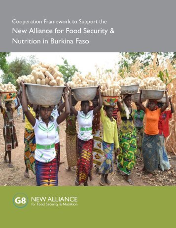 New Alliance for Food Security & Nutrition in Burkina ... - Grow Africa