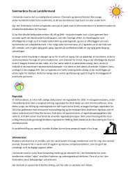 Sommerbrev fra en Landsformand - Schæferhundeklubben for ...