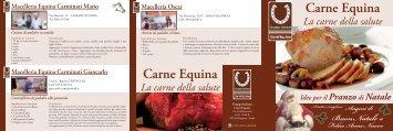 Carne Equina Carne Equina - Confesercenti Bergamo