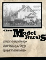 Model Rural School - Alumni - Truman State University