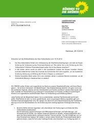 die Grünen - Bündnis für Kinder und Familien in Niedersachsen eV