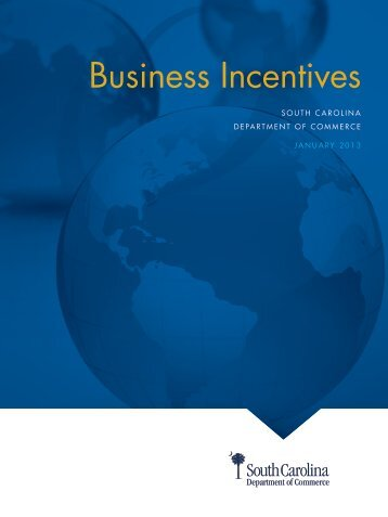 Download SC State Incentive Summary - Alliance Pickens
