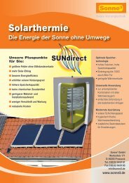 Drainback-Solaranlagen und Wärmespeicher (PDF 1,9 BM