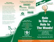 11th Annual - Double H Ranch