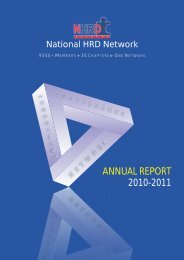 NHRDN Annual Report - National HRD Network