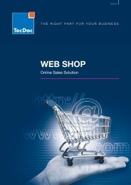 WEB SHOP - TecDoc