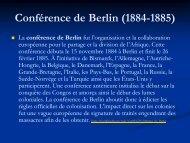 Histoire de L'EUROPE - Sciences Humaines