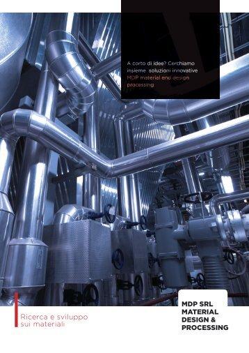 Ricerca e sviluppo sui materiali - Umbria Innovazione
