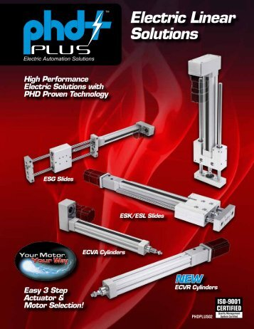 PHD Plus Electric Linear Solutions - Innovative Control Solutions