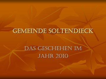 August 2010 - Gemeinde Soltendieck