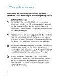sona:vogue micro Gebrauchsanweisung (PDF, 736kB) - Seite 6