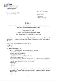 Zápis o vyhodnocení - Ústřední vojenská nemocnice