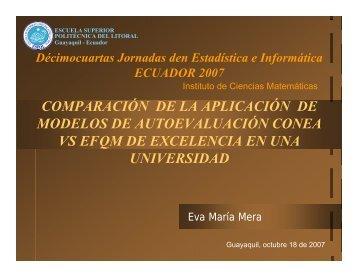 Modelo EFQM - Icm - Escuela Superior Politécnica del Litoral