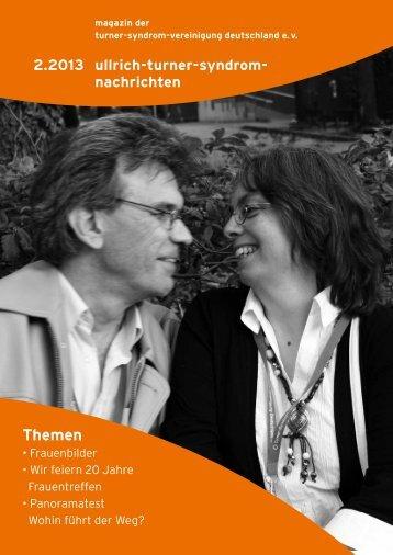 Themen - Deutsche Ullrich-Turner-Syndrom Vereinigung e.V.