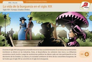 La vida de la burguesía en el siglo XIX - Manosanta
