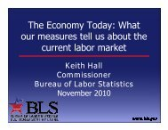 What our measures tell us about the current labor market - PCBE