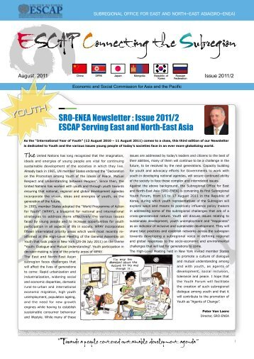 English - Subregional Office for East and North-East Asia - escap
