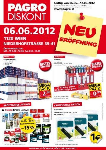 Flugblatt downloaden (PDF) - PAGRO Diskont