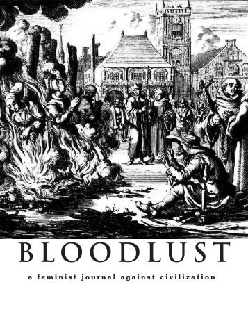 BLOODLUST - Zine Library