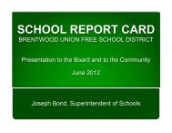 school_report_card - Brentwood Union Free School District