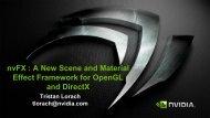 nvFX - GPU Technology Conference