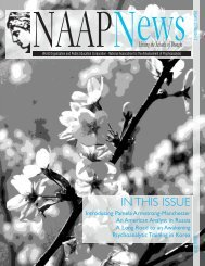 Spring 2010 - NAAP