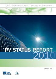 pv report 2010.pdf - JRC Publications Repository - Europa