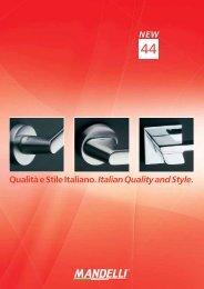 Qualità e Stile Italiano. Italian Quality and Style.
