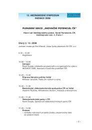 Program - AIP ČR