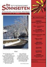 Die Sonnseiten 26 - Dezember 2006