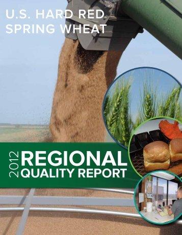 U.S. Hard red Spring WHeat Quality RepoRt - US Wheat Associates