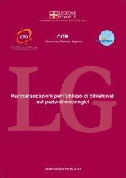 LG raccomandazioni utilizzo bifosfonati dicembre 2012 - CPO