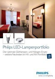 Philips LED-Lampenportfolio - Sonepar