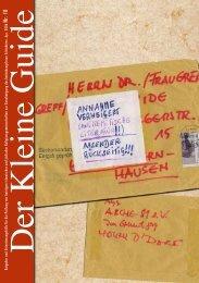 DER KLEINE GUIDE - PAKT