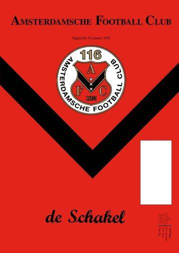 16 maart 2011 89ste jaargang nummer 8 - AFC, Amsterdam