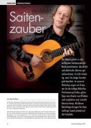 1. Teil: Orchester aus der Kiste – akustische Gitarren