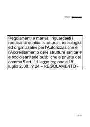 REGOLAMENTO DEFINITIVO modifica Guerzoni ... - FederLab Italia