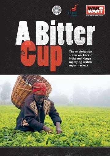 exploitation in the Tea industry - War on Want