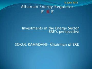 Albanian Energy Regulator Ere