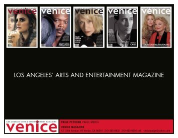 LOS ANGELES' ARTS AND ENTERTAINMENT ... - Paige Media