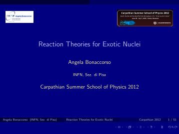Reaction Theories for Exotic Nuclei