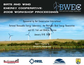Proceedings of the 2008 Bats and Wind Energy Cooperative ...