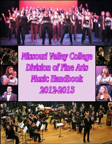 2012-2013 Music Handbook - Missouri Valley College