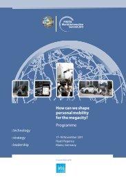 Download the 2011 Programme - FISITA World Automotive Summit