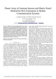 Planar Array of Antenna Sensors and Matrix Pencil Method for DoA ...